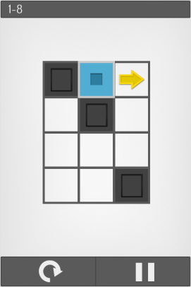 Find the quickest path through all of the open squares.
