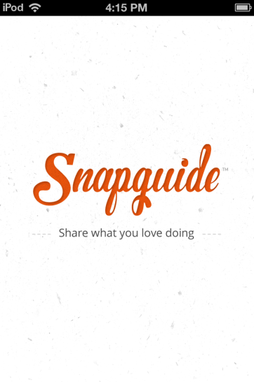 Snapguide keeps me very busy.