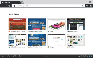 The stock Android browser (pre-Chrome).