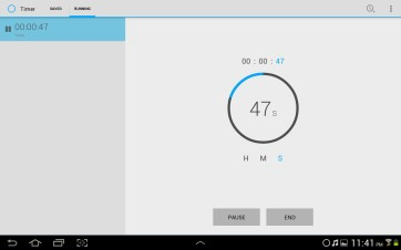 Timer also has a pleasant light theme.