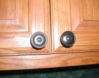 Tip: Installing cabinet hardware with a jig  Front Porch Cozy