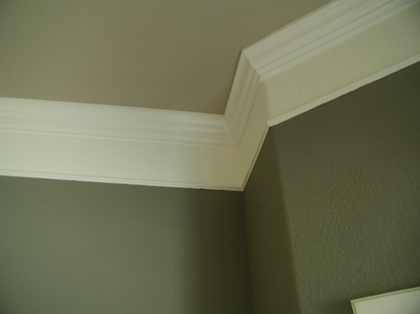 Wall Crown Molding Idea