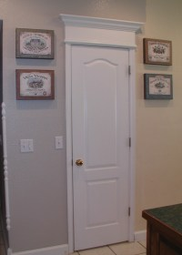 Decorative Trim Above Exterior Door. front doors for homes ...