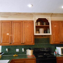 Upper Kitchen Cabinets Remodeling Birmingham Mi Project Making An Wall Cabinet Taller Front Porch Next