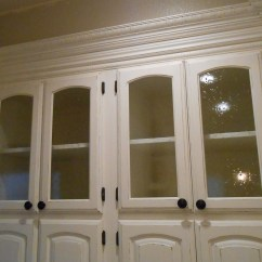 Kitchen Cabinet Doors With Glass Fronts Big Tiles Casual Cottage