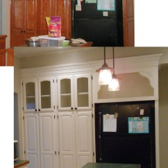 Used Kitchen Cabinets For Sale Wall Art Diy Changing Solid Cabinet Doors To Glass Inserts – Front ...