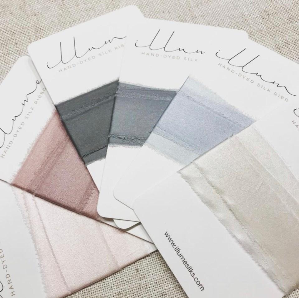 Photo Styling Prop - illume silks ribbon