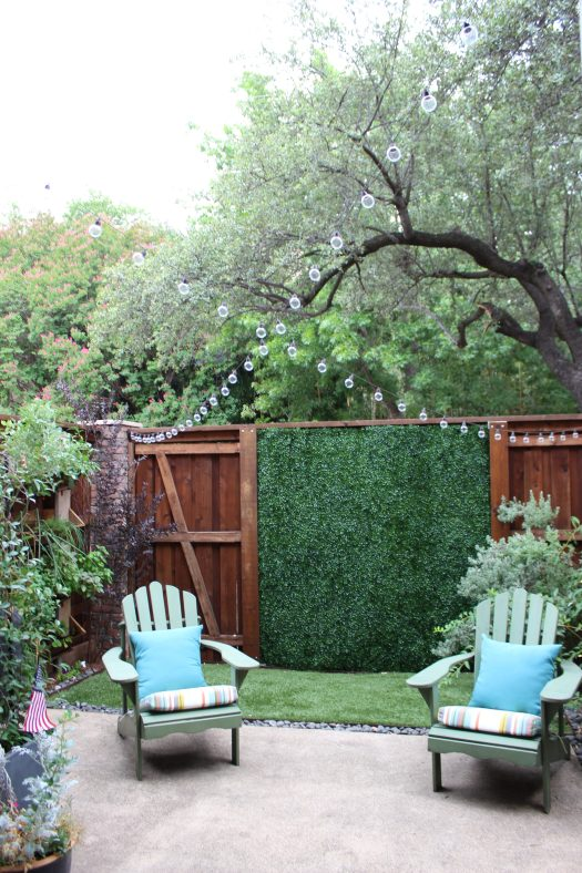 Artificial boxwood
