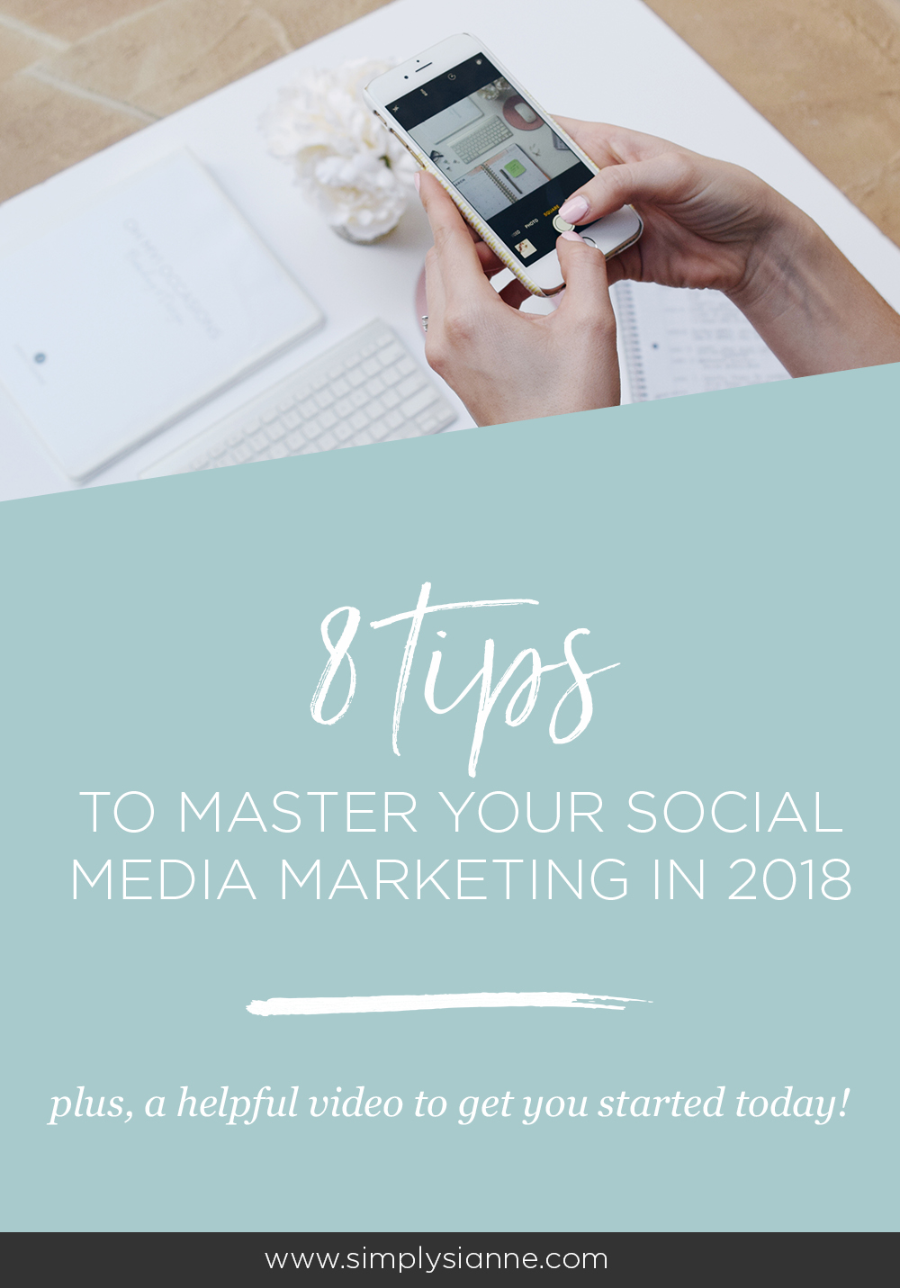 If the new changes on Facebook and Instagram have you wondering how you'll market your creative business in 2018, don't worry! Leverage your social media marketing with these 8 tips!