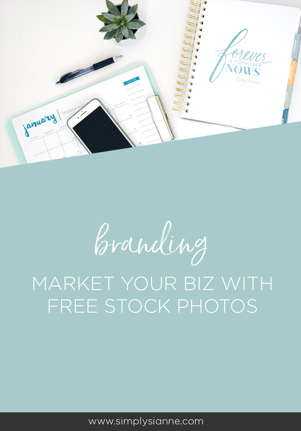 Market your creative business with free stock photos! | Free Stock Photos, Free Flatlay Photos, Lay flat photos, creative entrepreneur, branding, social media images