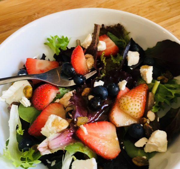 sweet green salad