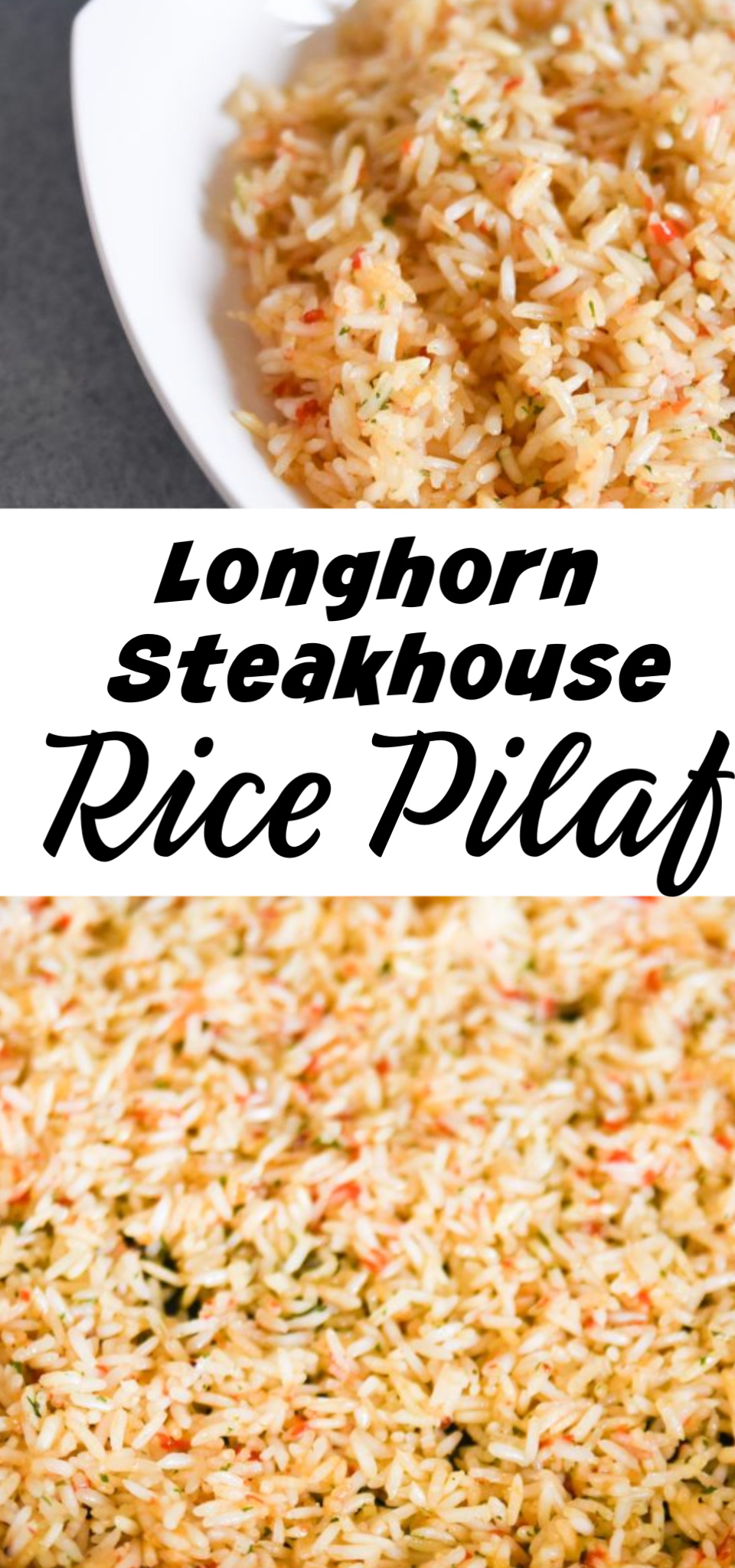 If you have wanted to make Longhorn Steakhouse Rice Pilaf in the comfort of your own home then you are in luck. This rice pilaf recipe is incredibly easy and delicious! And it takes less than 20 minutes to prepare! via @simplysidedishes89