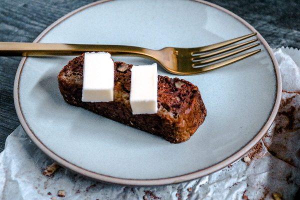 keto bread on a plate