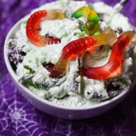Easy Halloween Jello Salad