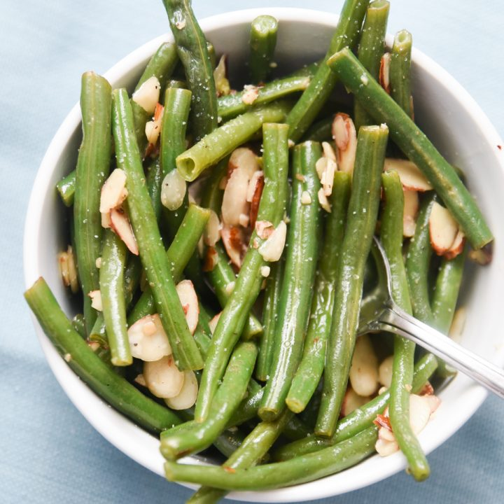 Instant Pot Green Beans Almondine