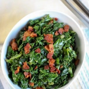 Bacon Garlic Kale