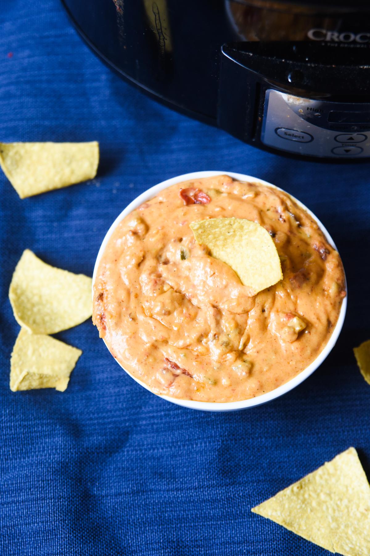 crock pot queso dip