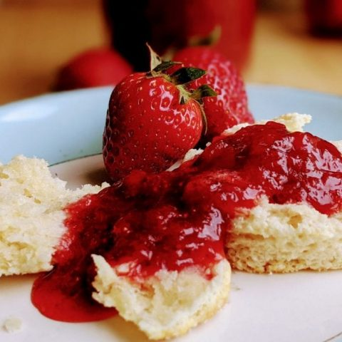 easy strawberry jam no pectin