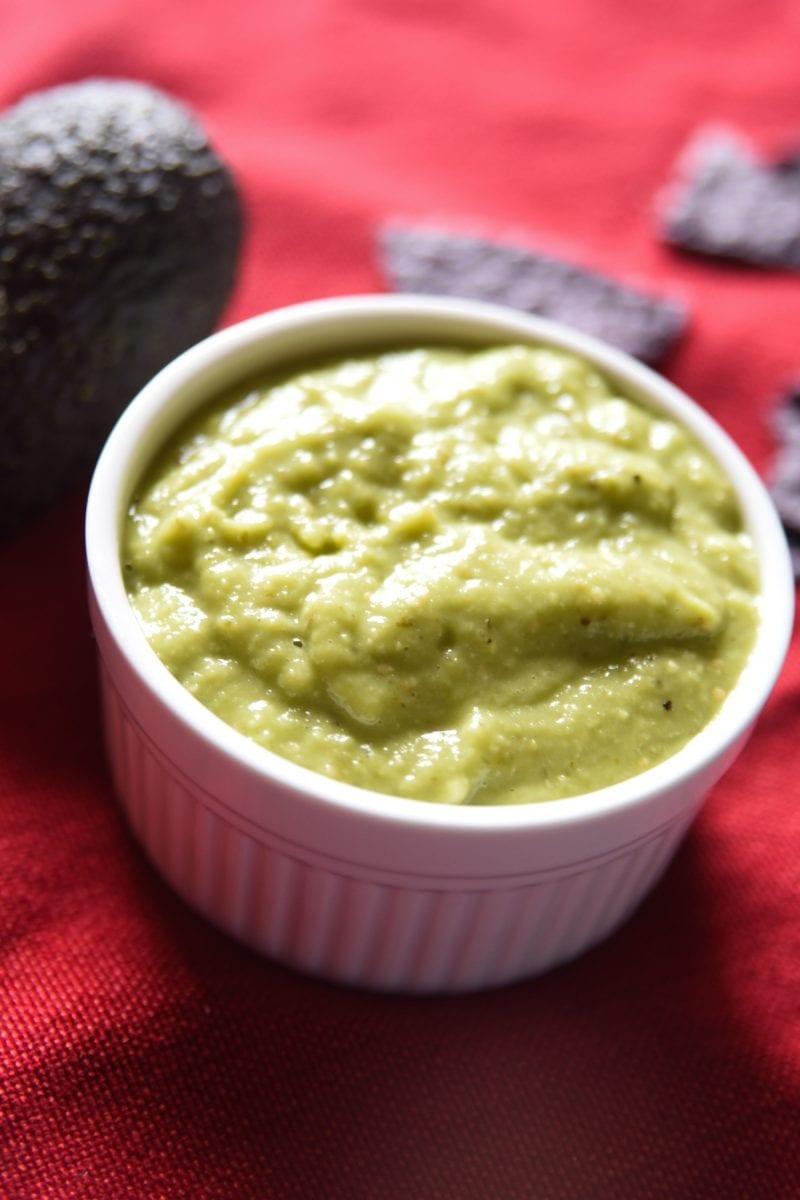 guacamole salsa in a bowl