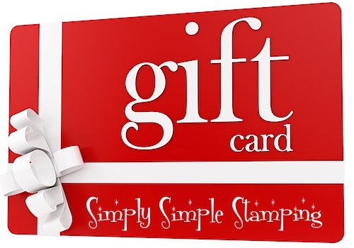 The PERFECT gift! Gift Cards from www.SimplySimpleStamping.com
