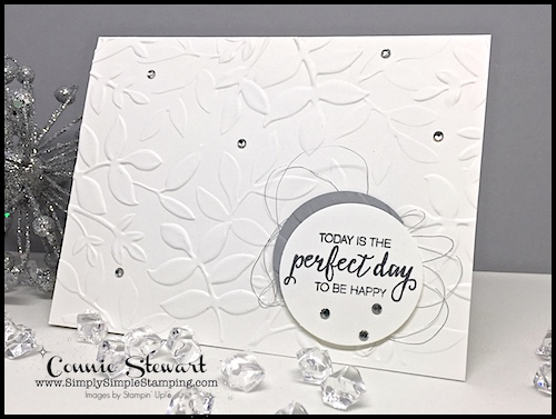 FLASH CARD VIDEO - Your Perfect Day - Create this card in a flash - see the video at www.SimplySimpleStamping.com - July 28, 2017 blog post