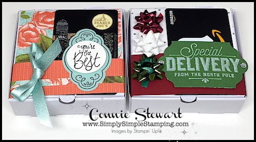 DOUBLE FEATURE – Pizza Box Gift Card Holder
