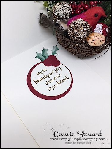 NOW OR WOW Video - Season's Greetings Holly Cards - whether you need a card NOW or have the time to make it a WOW, these Christmas cards are perfect! www.SimplySimpleStamping.com - look for the September 6, 2018 post