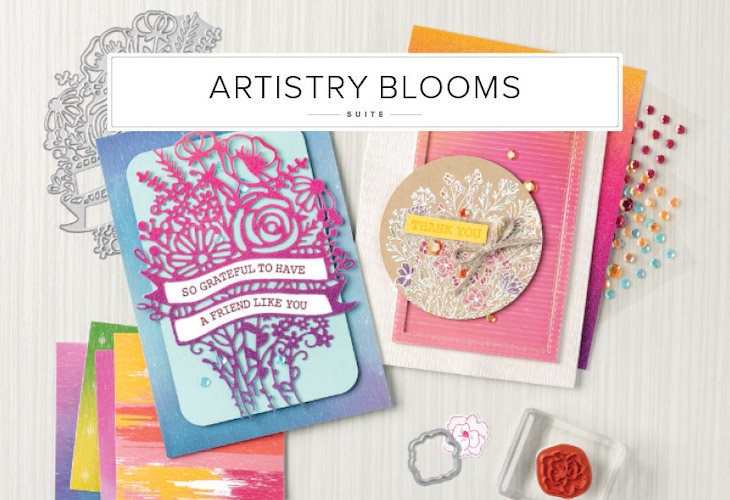 Check out the Artistry Blooms Suite by Stampin' Up!