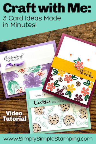 Craft with Me: 3 Card Ideas You Can Make in Minutes
