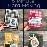 Fancy Fold Card: 5 Minute Card Making