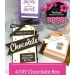 4 DIY Chocolate Box Packages You Can Make | Craft Punch Ideas