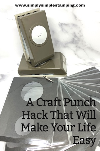 Save this craft punch hack to your favorite Pinterest Board