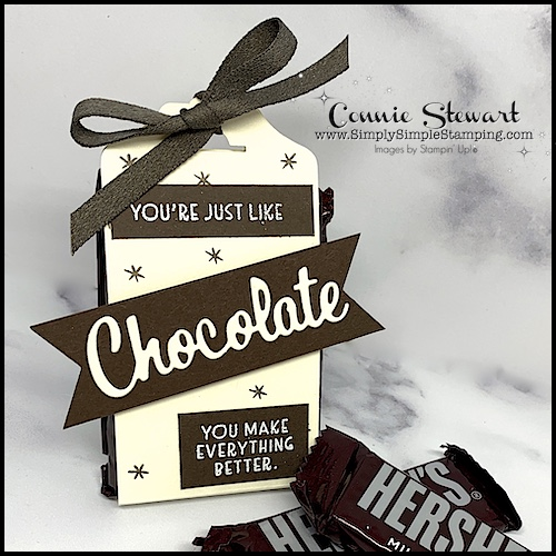Anyone would love to receive this fun chocolate box with a retro feel.