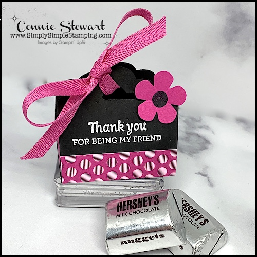 This DIY chocolate box packaging is perfect for a friend and a great pick-me-up!