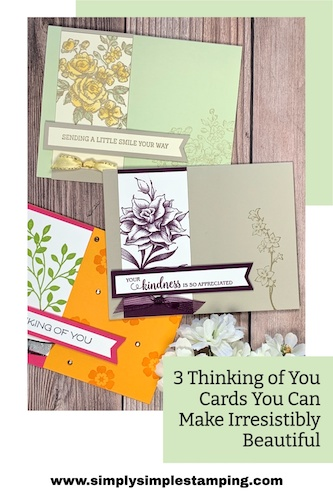 Thinking of you cards you can save to your Pinterest board