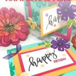 Birthday Cards You'll Love to Make
