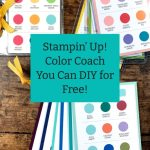 Stampin' Up! Color Coach You Can DIY for Free