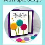 A Simple Card Idea with Paper Scraps