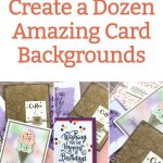 Create 12 Amazing Greeting Card Backgrounds