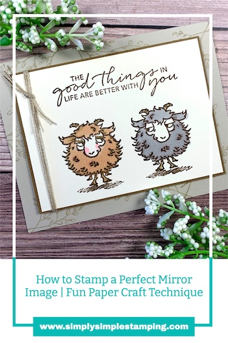 Save this stamped mirror image technique to your Pinterest board.