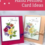 Stampin' Up! Hand Penned Cards