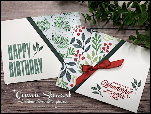 this-angled-card-would-make-an-easy-christmas-card