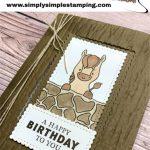 Make a Fun Fold Card For a Kid's Birthday