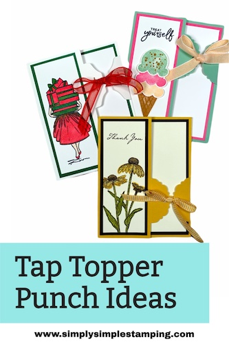 See How You Can Make Clever Greeting Cards? Use Your Tag Topper Punch!