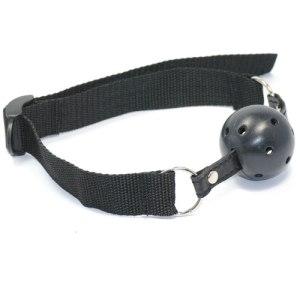 Black ball gag