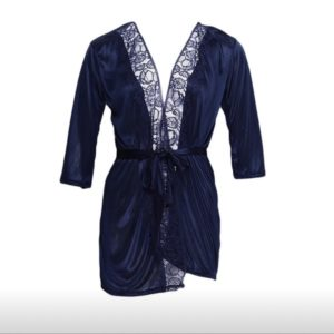 Blue robe front view