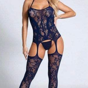 Lace body suit lingerie