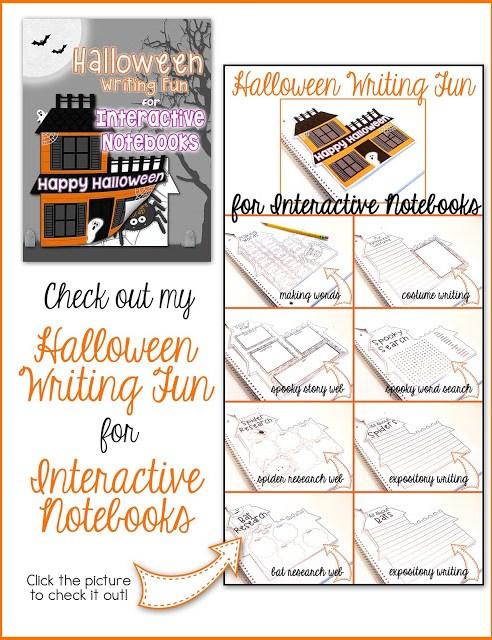 halloween interactive notebook