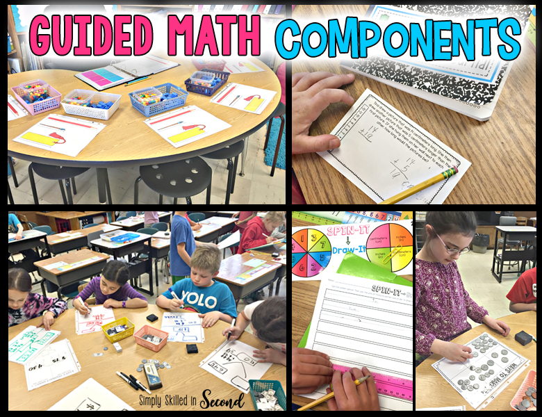 guided math, guided math organization, guided math rotations