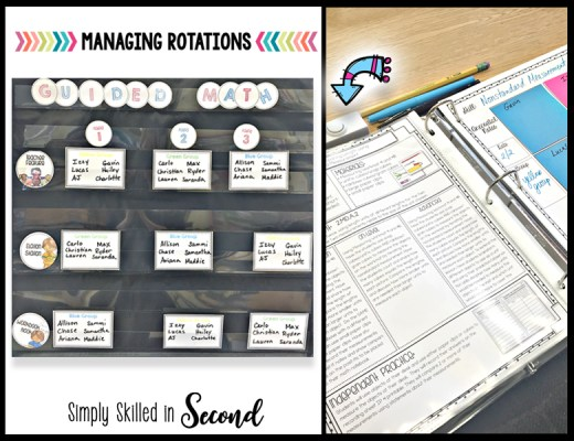 managing math rotations, guided math rotations, guided math stations, managing guided math stations